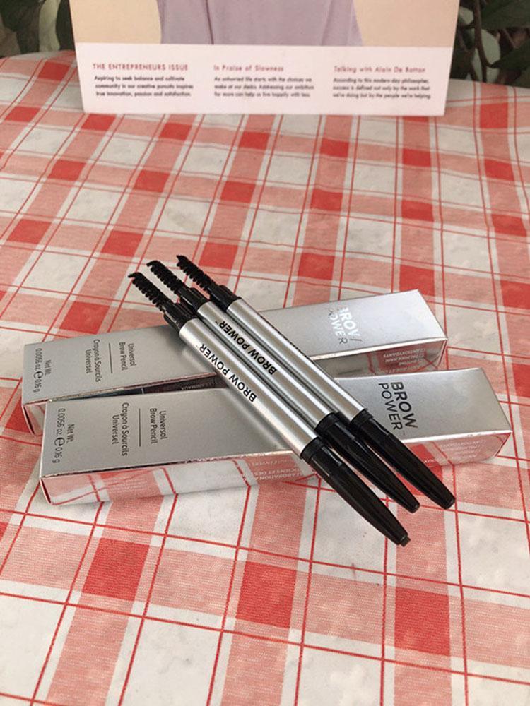 مستحضرات التجميل جبين الطاقة العالمي الحاجب قلم رصاص رمادي داكن العالمي 1068 قلم رصاص # الحاجب الحاجب معززات