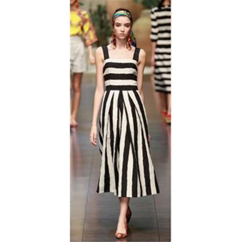 UK Boho Women Sleeveless Stripe Sundress Ladies Summer Long Maxi Dress Plus Size