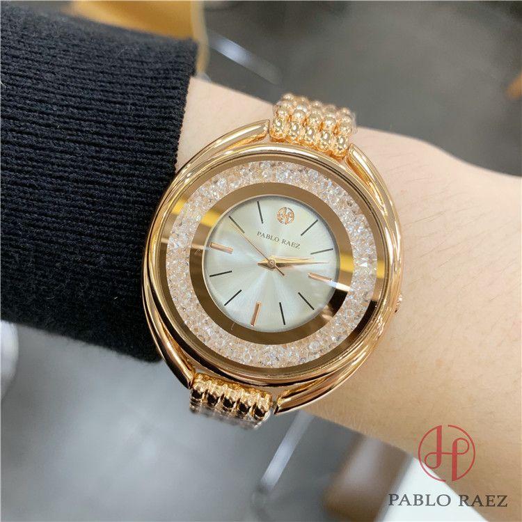 PABLO RAEZ 좋은 새 모델 패션 시계 여성 스테인레스 스틸 시계 최고 품질의 고급 레이디 손목 시계 wholesales 가격 dropShiping 선물 상자