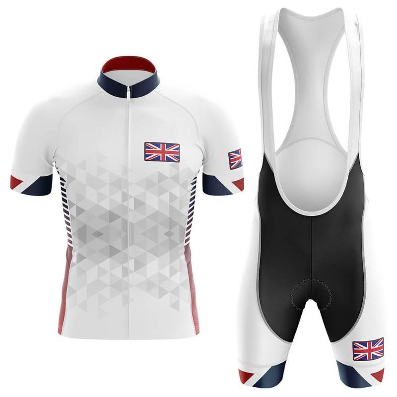 2020 UK Pro Cycling Jersey Set Estate cicla l'usura per mountain bike bicicletta copre Abbigliamento MTB Bike Abbigliamento triathlon