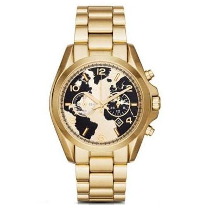 TOP relogio masculino 드롭 배송 클래식 패션 도매 및 소매 클래식 패션 큰 다이얼 여성 시계 MK6271 M6272 BOX 포함