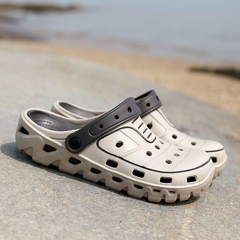 Оригинальный сад Вьетнамки Группа быстрой сушки воды обувь Мужчины Jelly Спорт Летний пляж Аква Трусы Открытый сандалии мулов обувь