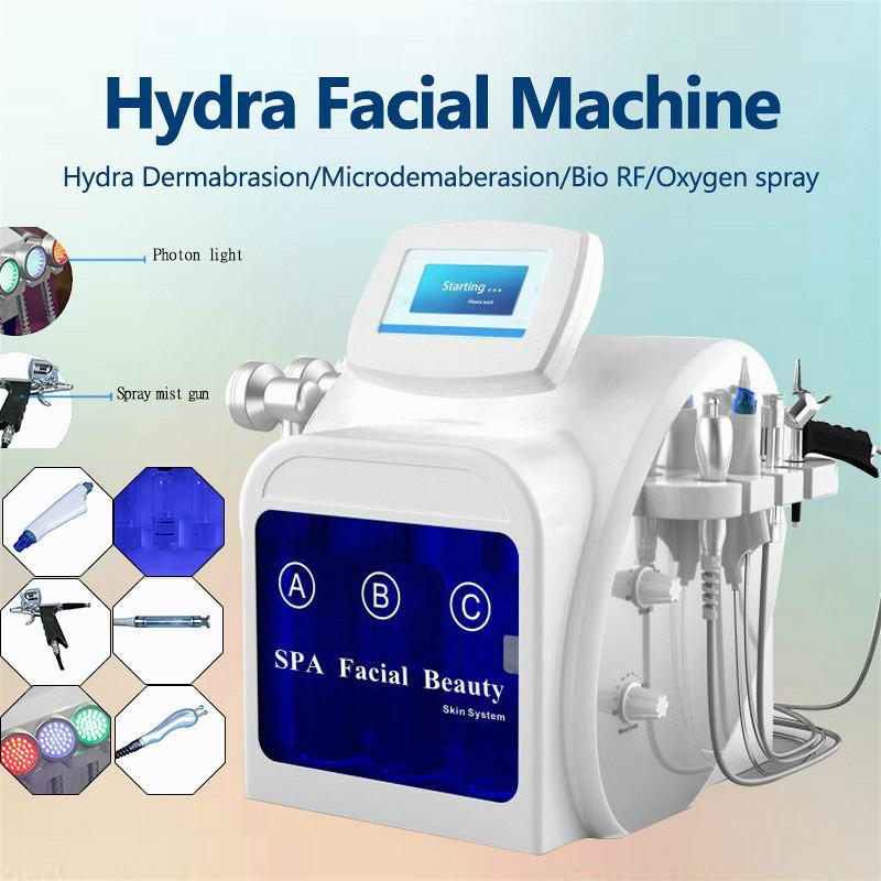 2020 Профессиональный гидравлический микрокристаллическая кожи лица машина воды кожа кожа лица BIO тонкое лицо ультразвуковой машины глубокой очистки салона