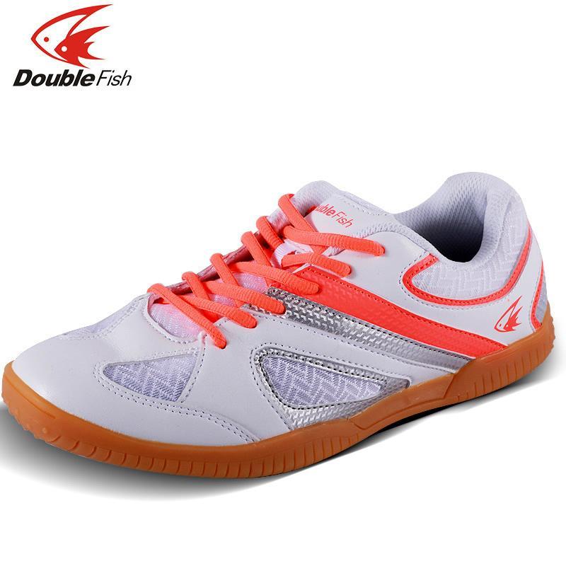 Nouvelle arrivée Double tennis de table professionnel poisson chaussures ping pong de rembourrage de résistance Chaussures de sport respirant pour hommes femmes
