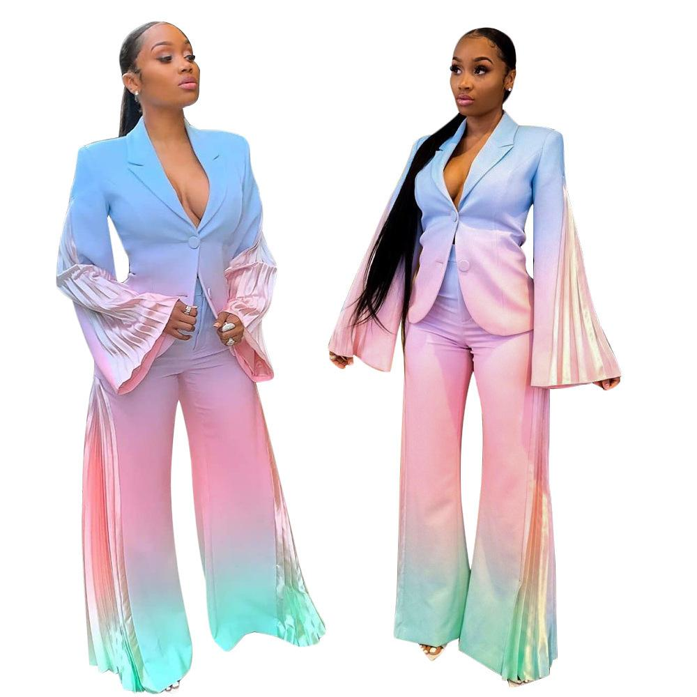 Designer Womens Bick-Piece Breve Sexy Casual Suitlmf5