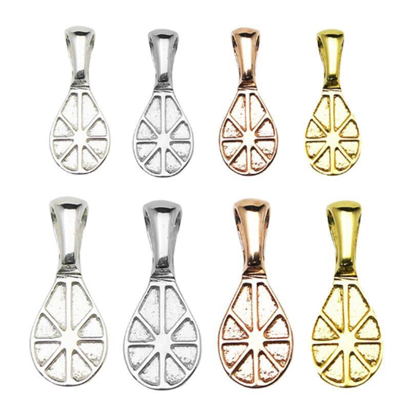 Beadsnice argento puro 925 gioielli bail colla-on migliori gioielli amici ciondolo collana balle accessorio di DIY per gemma ID29361