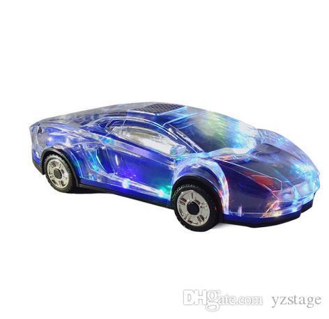 Bluetooth del coche modelo de altavoces estéreo de la forma del coche ayuda del altavoz del USB del TF Card MP3 MP4 regalos reproductor de música Bass Kid para PC Phone