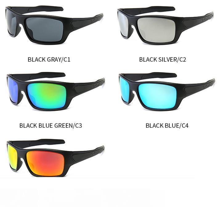 10 adet adam bisiklet güneş gözlüğü kadın açık spor sürüş gözlük rüzgar sürme gözlük becah güneş gözlüğü 5 renkler dorp nakliye