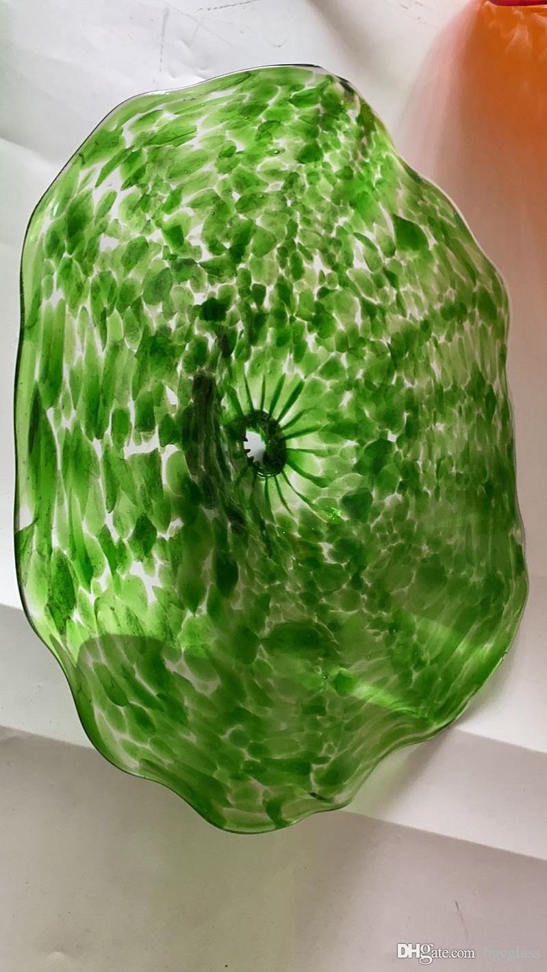 الحديث مخصص الفم في مهب زجاج مورانو لوحات الهوى بقيادة الديكور الجدار الاضواء الهند زجاج مورانو جدار الفن مصباح