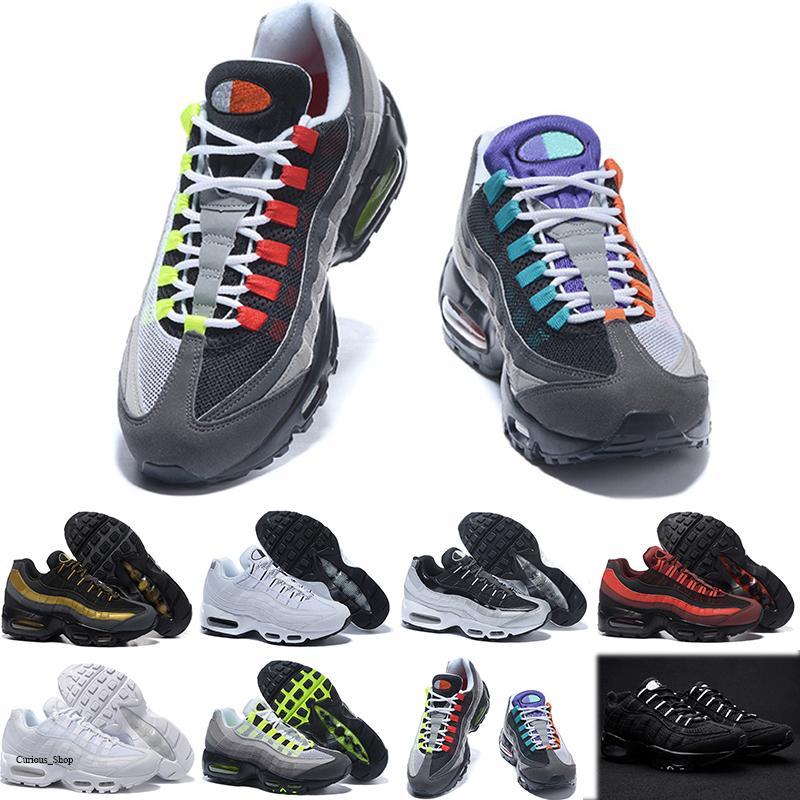 Nike air max 95 2020 Erkekler OG Yastık Deniz Kuvvetleri Spor Yüksek Kalite Chaussure yürüyüş botları Erkekler Desinger çalışan Ayakkabı Sneakers Boyut 36-45