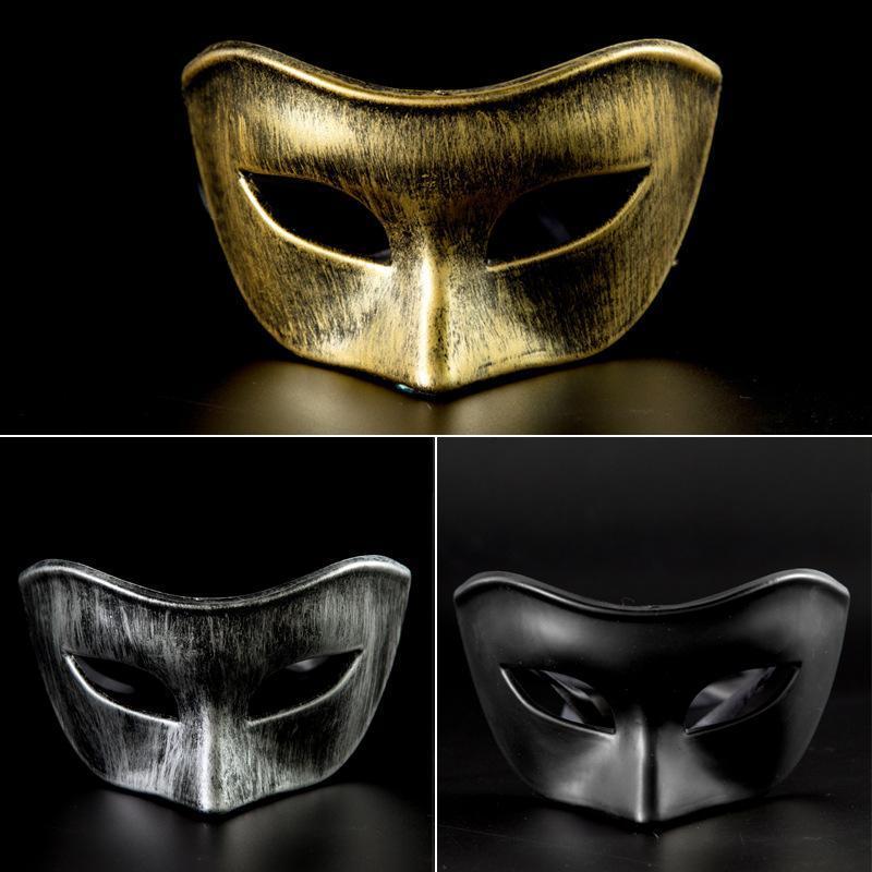 Máscaras 1pc del partido por tocar el balón Adultos Máscaras de Venecia mascarada Rendimiento media mascarilla de fiesta de Navidad de Halloween