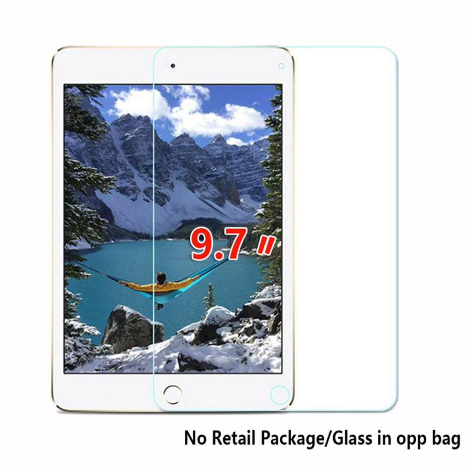 """9.7"""" Glass For IPAD 7 6 5 4 3 2 1 IPAD PRO 9.7 2017 IPAD AIR 1 AIR 2 Tablet Tempered Glass Screen Protector"""