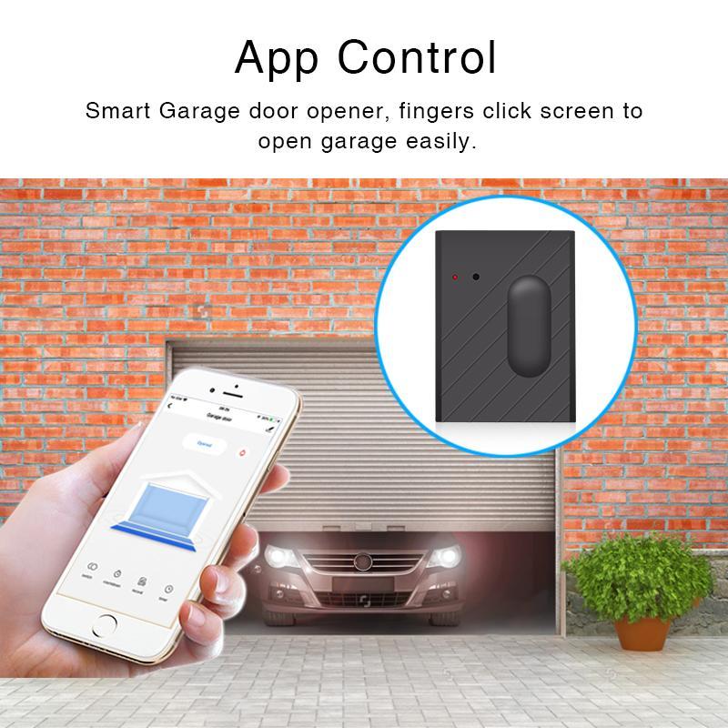 Tuya intelligente Garage Door Remote Controllerl Wifi Interruttore con Tuya controllo APP intelligente vita domestica Porta telecomando