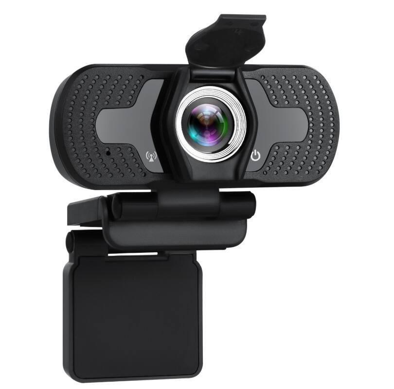 HD Auto Focus Camera 1080P 30fps Video Call Available Pro Streaming Web Camera with Mic Widescreen USB Computer Cam for Conferencing W7 w8