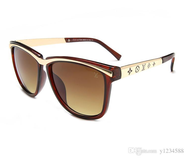 2019 occhiali da sole di marca di alta qualità occhiali da sole moda uomo occhiali firmati occhiali da sole uomo e donna nuovi occhiali 7673