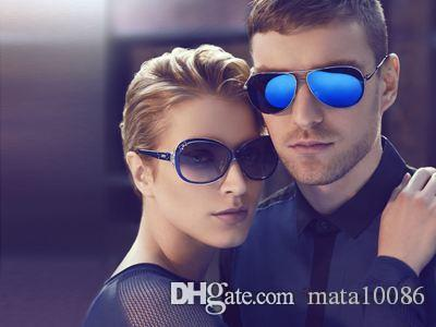 1 pcs Alta Qualidade Clássico Óculos De Sol Piloto kaka Designer Mens Womens jim Óculos Eyewear Metal Ouro UV400 Steampunk Retro Do Vintage com caixa