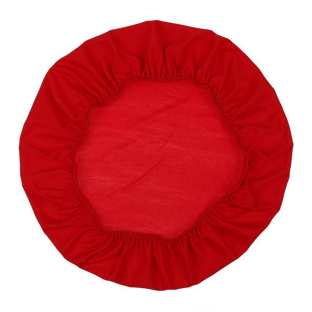 50x50cm rimovibile Equipaggiata elastico sedia solida copertura di sede lavabile Dining Banquet Fodera Decor Home Textiles