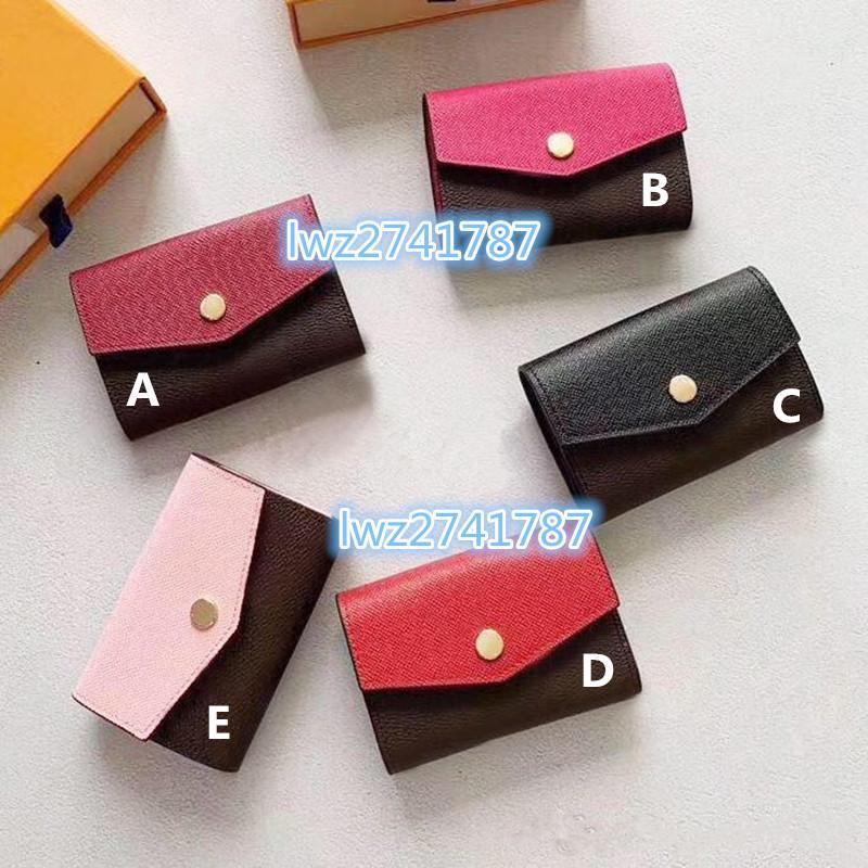 Portefeuille de sac à main courte pour femmes de style classique en cuir