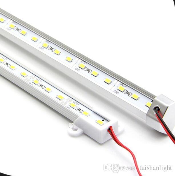 Darmowa Wysyłka 50 CM LED Hard Strip 36leds SMD5630 Ciepłe białe / białe / chłodne białe DC12V sztywne pręt ledtube do szafek