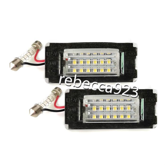 Автомобильные светодиодные лампы номерного знака для Mini Cooper R56 цена по прейскуранту завода изготовителя Led number plate light 13.5 V 6000K