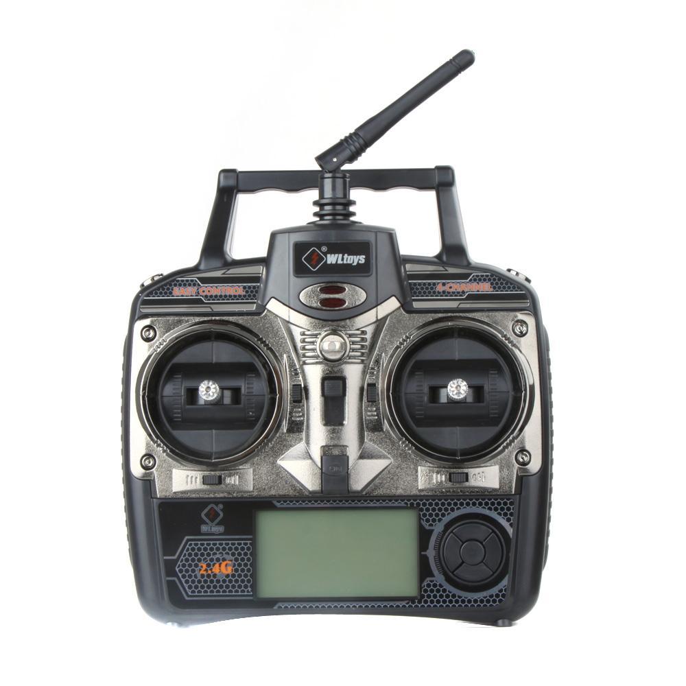 الأصلي Wltoys V912 4CH شفرة واحدة RC مروحية 2.4GHz إرسال راديو نظام البسيطة درون طائرات الهليكوبتر للهدايا عيد الميلاد للأطفال
