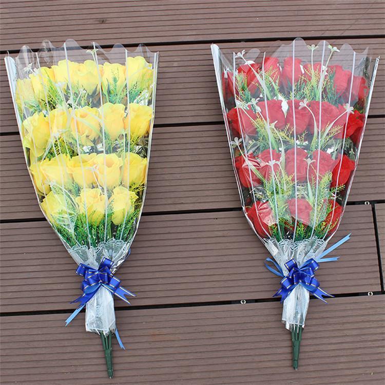 Моделирование розы букет стреловидности могила букет цветов Искусственные розы Гробница Подметальные день Sacrificial букет T9I00364