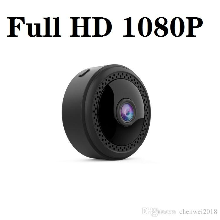 Full HD 1080P Mini kamera W12 kablosuz wifi Mini ip kamera kızılötesi gece görüş küçük mikro video kamera Destek hareket algılama