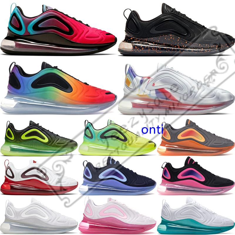 Voltios futuro de los zapatos corrientes de los hombres Para OG Sé paquete de Pascua verdadero orgullo voltios para mujer Triple Blanco Negro Luces del Norte Sunset Sport zapatillas de deporte 36-45