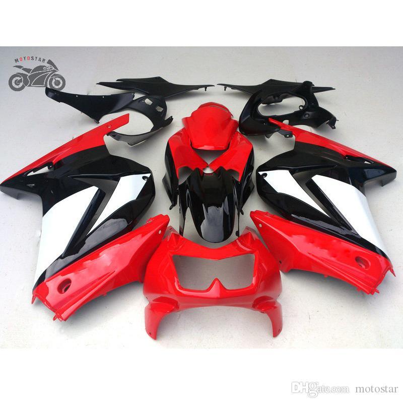 Injectie Gegoten Black Backings Kit voor Kawasaki Ninja 250R ZX250R ZX 250 2009 2009 2010 2011 2012 EX250 Accepteer elke op maat gemaakte verfopdracht