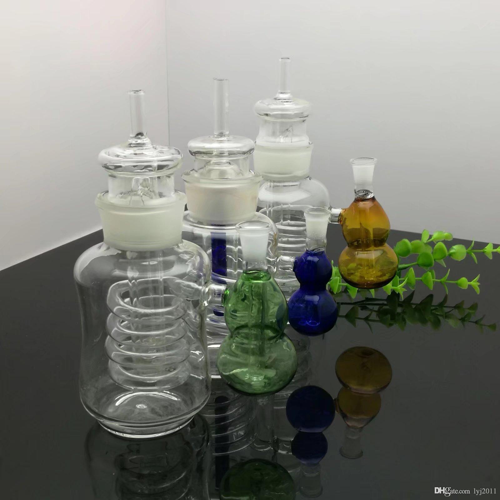 garrafa de vidro garrafa de água cabaça externa bongs de vidro queimador de óleo de vidro da tubulação de água Plataformas de petróleo Rigs fumadores