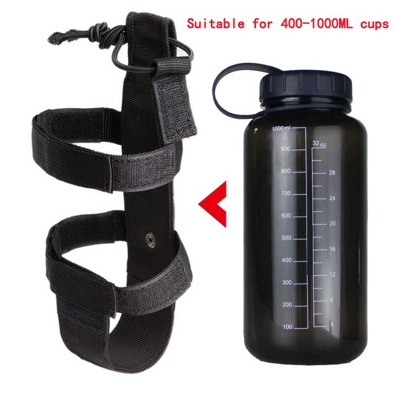 Garrafa Ar Livre Molle Água Pouch Tactical Gear Chaleira cintura Ombro Fãs Bag Exército para a escalada Camping Caminhadas Bolsas