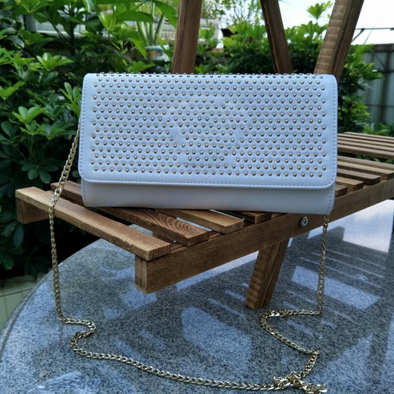 Bolsa de la carpeta del tirón nuevo de la manera bolso de la plaza principal de la medusa del remache personalizada bolsa de gran capacidad 151