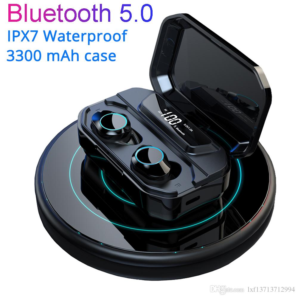 2019 Newest G02 TWS Bluetooth 5.0 Earphones 6D Surround Subwoofer ...