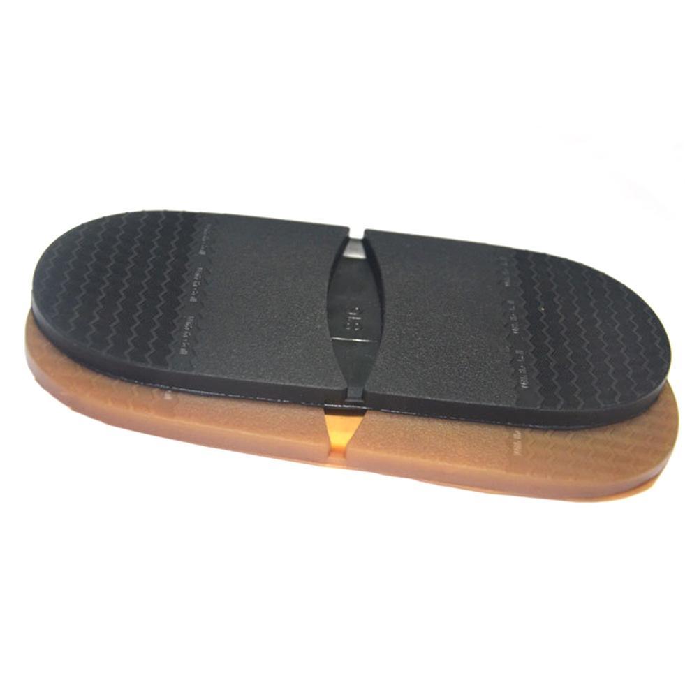1 par elástico plano Anti Slip suela de caucho del talón del protector reparación suave bricolaje reemplazo de zapatos soles Espesar Hombres Mujeres