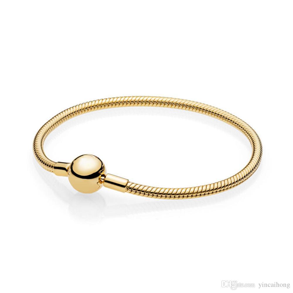 NUOVO 100% di alta qualità 925 567107 MOMENTI SHINE LISCIO regalo dei monili in argento sterling DIY donne di fascino di moda originale