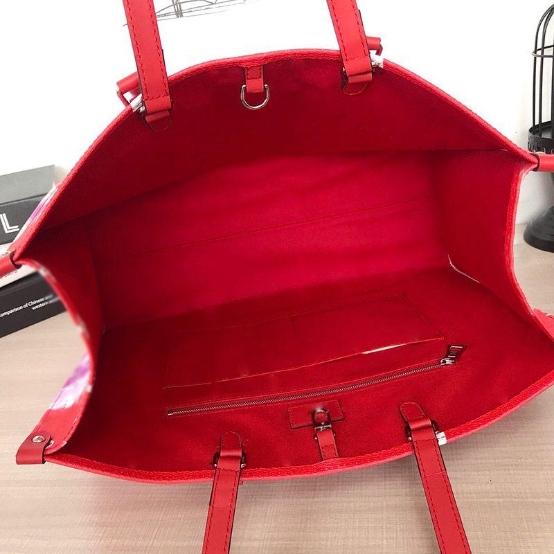 Mulheres Handbags Designer Tote Mulheres Sacos OntheGo Grande Bolsa Totes Top Designer Qualidade Qualidade Bolsa de Moda de Luxo Bolsas De Verão Bolsas De Verão Veneno