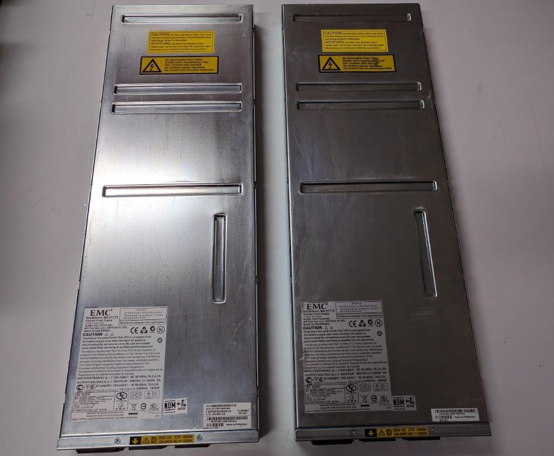 100% original de Trabajo para EMC 118031985 078-000-062 1000W Standby SPS CX4 cx3