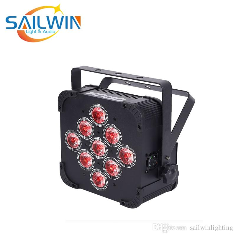 حار بيع بانتا 9x15W 5IN1 LED الاسمية العارض RGBAW البطارية شقة لاسلكية تعمل بالطاقة LED الخفيفة الاسمية