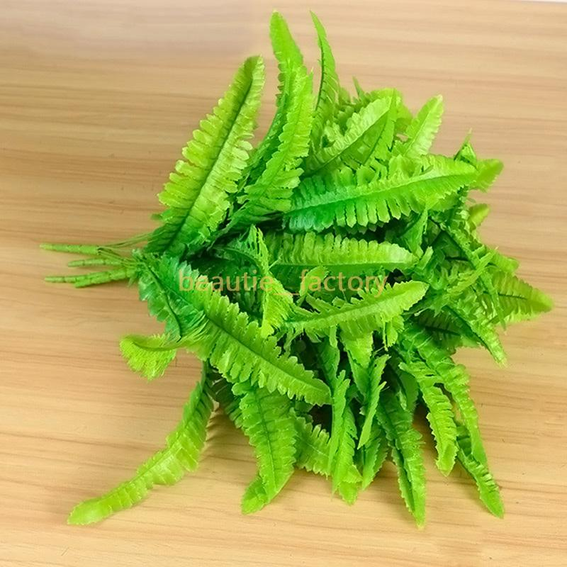 Artificial Fake Plastic Green Grass Plant Flowers Green Wall Home Office Party Garden Decoration 7 style New