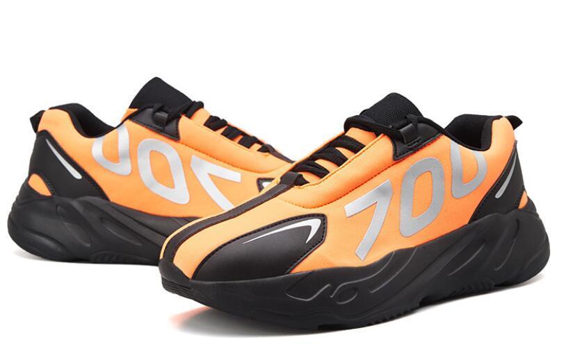2020 Yüksek Kalite 700 Erkek Günlük Ayakkabılar En İyi Kalite 700s Spor Sneakers Ayakkabı kanvas ayakkabılar boyutu 39-45