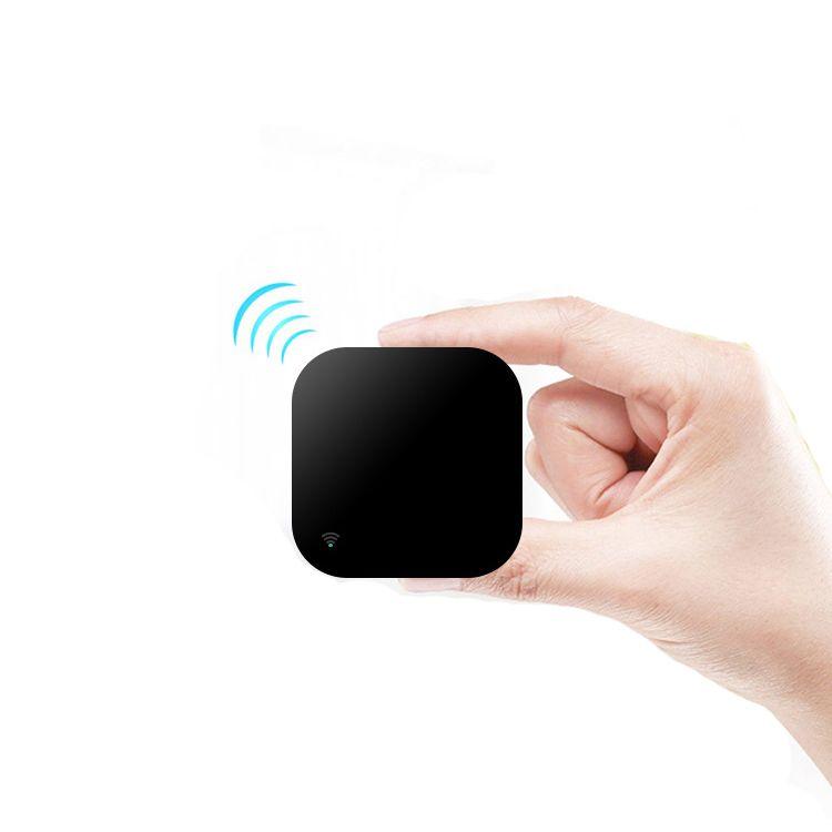 Tuya Akıllı Ev akıllı yaşam APP kontrol Evrensel WiFi kızılötesi uzaktan kumanda TV / AC hava kontrolörü