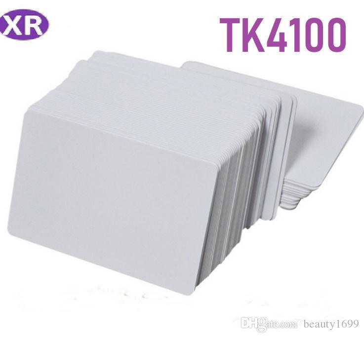 500pcs / серия 125KHz RFID Blank CARD TK4100 Chip ID White Card Inkjet для печати пустой ПВХ карты для принтеров Epson, для принтеров Canon