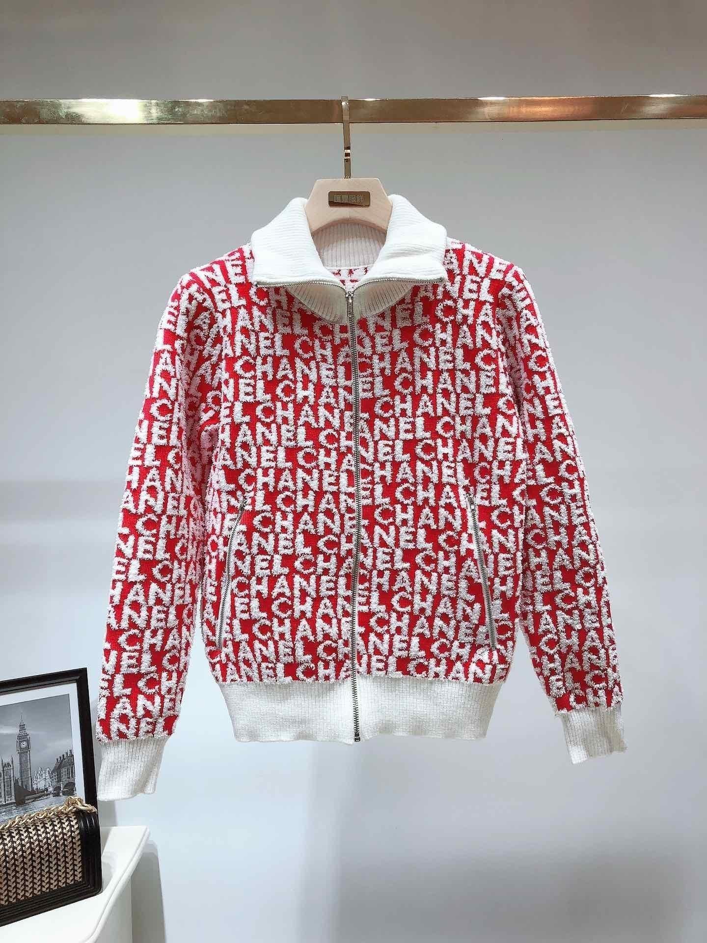 2019 New mulheres jaqueta queda de emenda camisola mulheres elegantes encabeça cardigan jaqueta de outono inverno lazer zipper roupas femininas free shopping 71