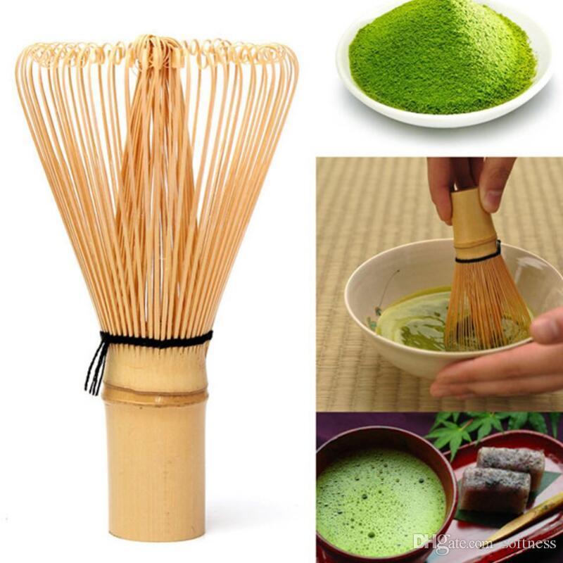 New Cerimônia de bambu japonesa Chasen Green Tea Whisk por Preparando Matcha em pó 002 - Café, chá Tools