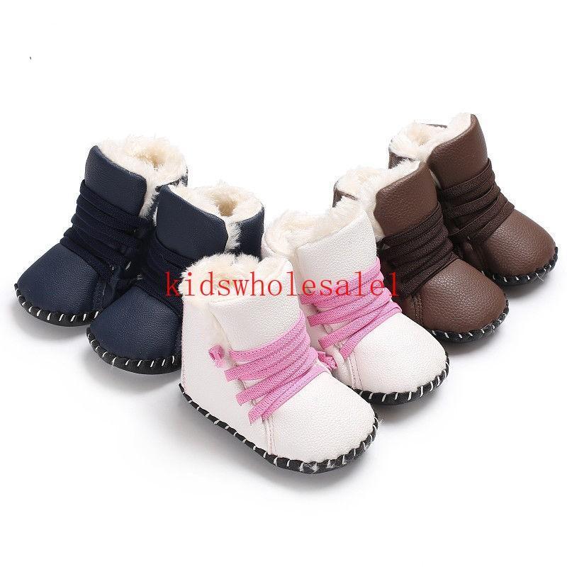 New Newborn Baby Girls Boys Snow Boots