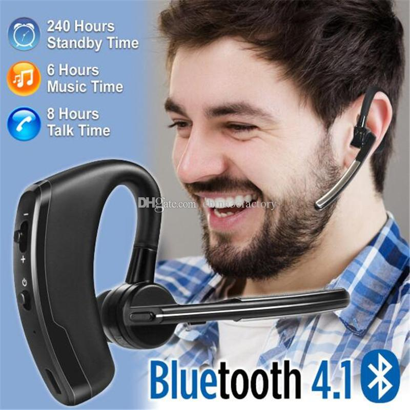 high Quality Bluetooth headphone Headset CSR4.2 Business Stereo Earphones With Mic Wireless Universal Voice Earphone with Box Package