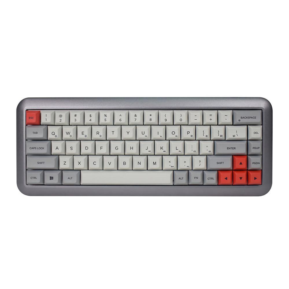 GK68 68 Key Gateron Switch DSA Profile Dye Sub PBT Keycaps Hot Swappable  Type C Wired Mechanical Gaming Keyboard For Mac OS Wins Cheap Midi Keyboard