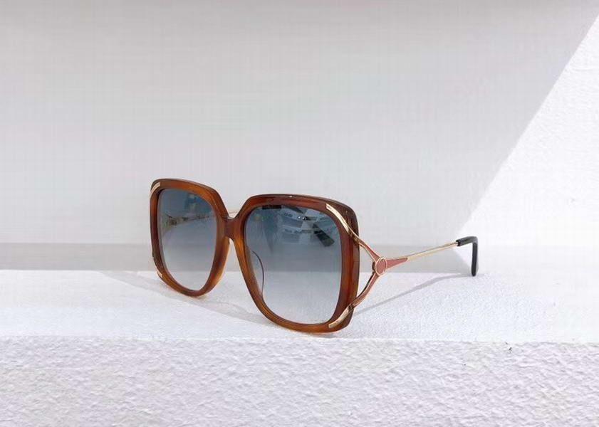 Fashion Square Sunglasses 0647S 0647 Havana green gafas de sol Women Sunglasses Shades New with box