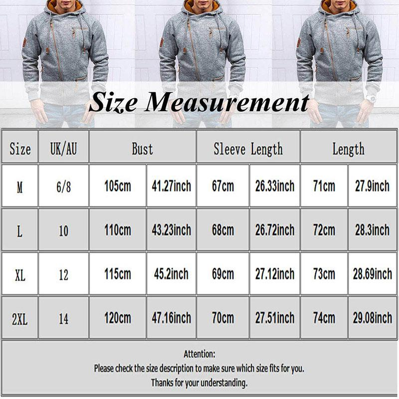 Mens Fashion Hip Hoodies Hop Autunno Streetwear Solid Men New Coulisstring Maglioni Slim Tops Casual Zipper DRJVO