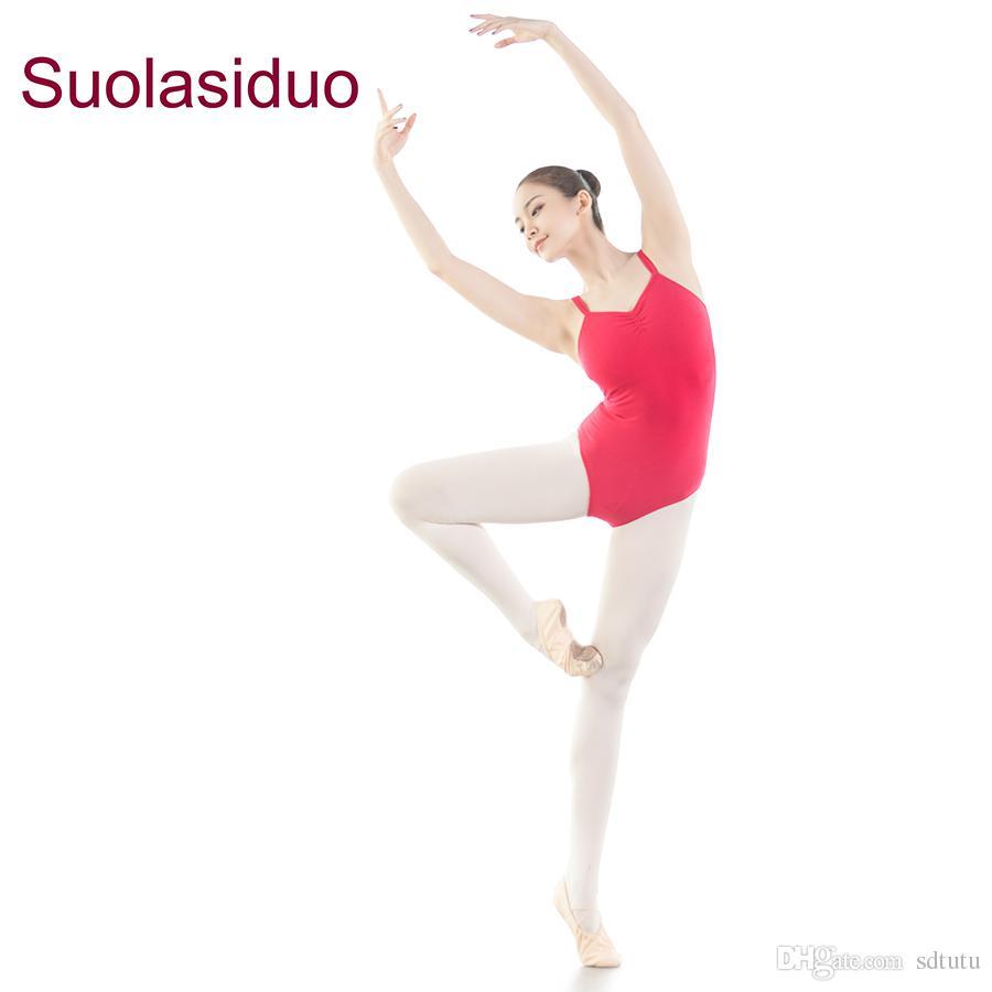 NUOVO Ragazze uniforme Leotard Danza Ginnastica Balletto Maniche Lunghe Body adulto